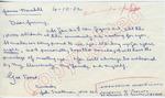 "John Smallman to ""Dear Jimmy"" (4 October 1962) by John Smallman"