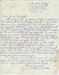 Catherine Batten to James Meredith (4 October 1962) by Catherine Batten