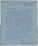 Miss Laura Davidson to Mr. Meredith (6 October 1962) by Miss Laura Davidson