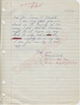 Homer W. Smith to Mr. James H. Meredith (7 October 1962) by Homer W. Smith