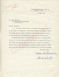 Grace M. Barclay to Mr. Meredith (9 October 1962) by Grace M. Barclay