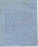 """B.I. Bassey to """"My dear Mr. J. Meredith"""" (9 October 1962) by B.I. Bassey"""