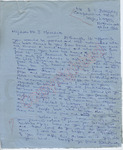 """B. I. Bassey to """"My dear Mr. J. Meredith"""" (9 October 1962) by B.I. Bassey"""