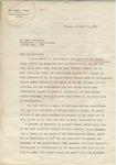 Joseph T. Simon to Mr. Meredith (10 October 1962) by Joseph T. Simon