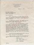 John S. Bernheimer to Mr. Meredith (16 October 1962) by John S. Bernheimer