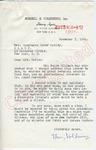 Henry Volkening to Mrs. Motley (7 November 1962) by Henry Volkening