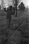 African American man with shotgun, image 001 by Martin J. Dain (1924-2000)