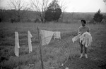 African Americans, rural home, image 001 by Martin J. Dain (1924-2000)