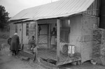 African Americans, rural home, image 007 by Martin J. Dain (1924-2000)