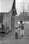 African Americans, rural home, image 019 by Martin J. Dain (1924-2000)