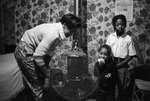 African Americans, rural home, image 022 by Martin J. Dain (1924-2000)