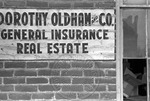 Dorothy Oldham and Company sign by Martin J. Dain