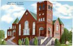 Bethel A.M.E. Church, Mound Bayou, Miss. by Curteich (Chicago, Ill.)