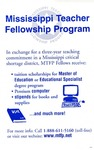 Mississippi Teacher Fellowship Program by Mississippi Teacher Fellowship Program