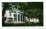 The White House, Overlooking the Beautiful Gulf of Mexico, Biloxi, Miss. by Gulfport Printing Co. (Gulfport, Miss.)