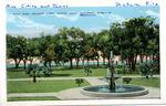 Gulf Park College Lawn, Facing Gulf, Gulfport, Miss. by E. C. Kropp Co. (Milwaukee, Wis.)