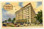 Hotel Markham on the Gulf, Gulfport, Miss. by Curteich (Chicago, Ill.)