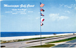 Mississippi Gulf Coast Under Five Flags by Natural Color Postcards, Kobert Color Pictures (Doniphan, Mo.)