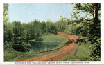 Entrance and Palila Lake--Legion State Park, Louisville, Miss. by Gulfport Printing Co. (Gulfport, Miss.)