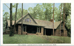 The Lodge, Legion State Park, Louisville, Miss. by Gulfport Printing Co. (Gulfport, Miss.)