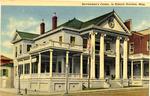 Servicemen's Center, in Historic Natchez, Miss. by Curteich (Chicago, Ill.)