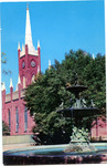 St. Mary's Cathedral, Natchez, Miss. by Curteich (Chicago, Ill.)