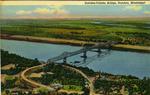 Natchez-Vidalia Bridge, Natchez, Miss. by Curteich (Chicago, Ill.)