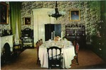 Dining Room, Lansdowne, Natchez, Miss.