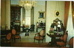 Parlor and Study, Melrose, Natchez, Mississippi by Curteich (Chicago, Ill.)