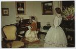 Parlor, Hope Farm, Natchez, Miss. by Curteich (Chicago, Ill.)