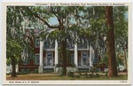 Gloucester, Built by Winthrop Sargent, First Territorial Governor of Mississippi by Curteich (Chicago, Ill.)