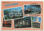 Greetings from Natchez, Miss. by Express Publishing Co. (New Orleans, La.)