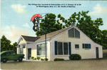 The Village Inn, Located at Intersection of U.S. Hiways 61 and 84 at Washington, Miss. 5 1/2 Mi. North of Natchez by MWM (Aurora, Mo.)