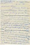 Personal letter sent to Parchman by Martha Alice Stewart