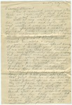 Personal letter sent to Parchman