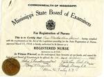 Martha Alice Stewart's Nursing Certificate by Martha Alice Stewart