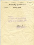 Letter enclosing Certificate by Martha Alice Stewart