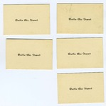 Martha Alice Stewart Name Cards by Martha Alice Stewart