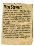 Martha Alice Stewart Obituary by Martha Alice Stewart