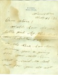 Letter from H. F. Belber (Frank) to Martha Alice Stewart, 19 May 1926 by Frank Belber