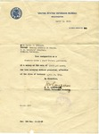 Letter of resignation acceptance by Martha Alice Stewart