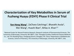 R08. Characterization of Key Metabolites in Serum of Fuzheng Huayu Phase II Clinical Trial by Yan-Hong Wang, ZaChara Catchings, Bharathi Avula, Mei Wang, Huashi Bian, and Ikhlas A. Khan