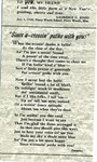 New Years Greetings Poem and Letter by Laurence Clifton Jones (1884-1975)