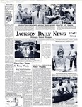 Collection of Jackson Daily News clippings about Piney Woods and fundraising letter by Jackson Daily News