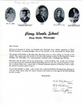 Letter from Faculty requesting money to give as a gift to Laurence C. Jones by Piney Woods School