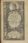 Pvb. Ovidii Nasonis Opera, volume 1 (Selection) by Ovid and Daniel Heinsius