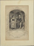 Mrs. H. Marston and Mr. F. Younge as Audrey and Touchstone