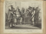 Falstaff at Justice Shallow's Mustering his Recruits by Author Unknown