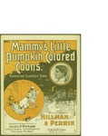 Mammy's Little Pumpkin Colored Coons / music by Sidney Perrin; words by George Hillman by Sidney Perrin, George Hillman, and M. Witmark and Sons (New York)