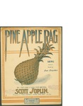Pine Apple Rag / music by Scott Jolpin; words by Joe Snyder by Scott Jolpin, Joe Snyder, and Seminary Music Co. (New York)